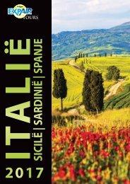 Brochure Italië - Sicilië - Sardinië - Spanje