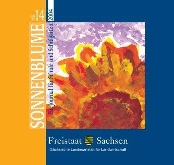 Sonnenblume - Heft 14 - Freistaat Sachsen