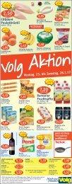 Volg Aktionen Montag 23.01.2017-Samstag 28.01.2017