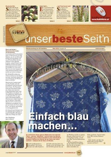 unser beste Seit'n | 28/2011 - Kultiwirte