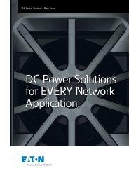 EN Eaton DC Solutions Overview July 2016