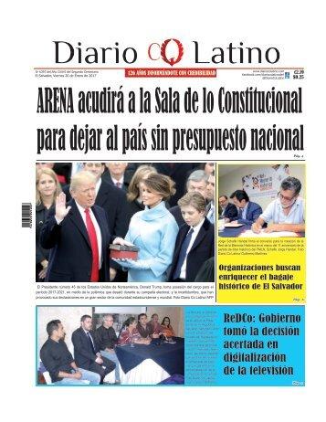 Edición 20 de Enero de 2016
