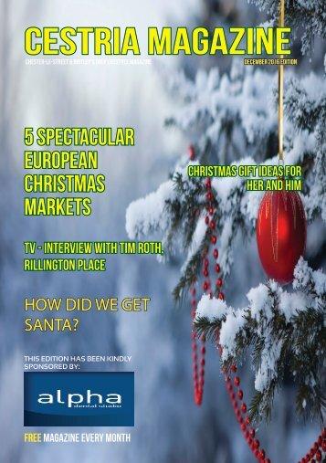 December 2016 Magazine