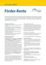 Förder-Rente - Oeco Capital