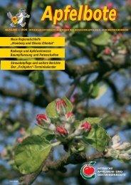 Apfelbote 1/ 2009 - Gutes aus Hessen