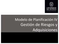 Modelo de Planificación 4