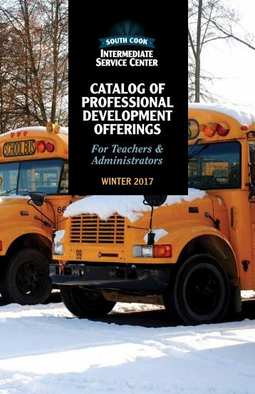 CATALOG OF PROFESSIONAL DEVELOPMENT OFFERINGS