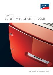 Nuovo SUNNY MINI CENTRAL 11000TL