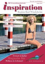 August 2011:Layout 1 - Magazin Inspiration - Bad Windsheim