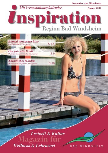 August 2011:Layout 1 - Magazin Inspiration - Bad Windsheim