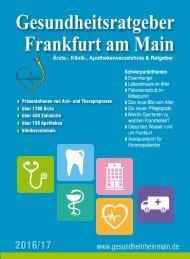 Gesundheitsratgeber Frankfurt/Main