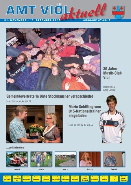 Veranstaltungen Gemeinde Viöl - Grafik Nissen