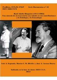 Raul Adolfo Ringuelet. ProBiota