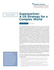 Superpartner A US Strategy for a Complex World