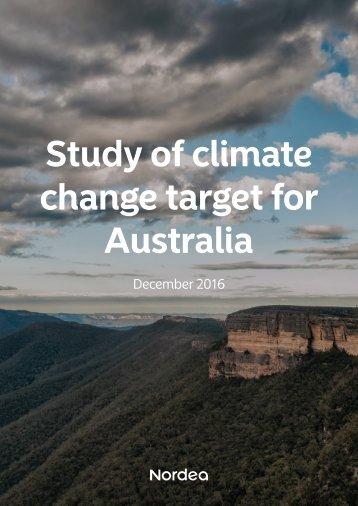 change target for Australia