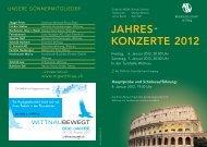 Unsere Spielzeiten am Sonntag, 17. Juni - Musikgesellschaft Wittnau