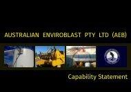 Adelaide Editorial Design : AEB Capability Statement