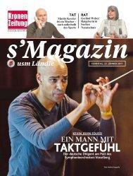 s'Magazin usm Ländle, 22. Jänner 2017