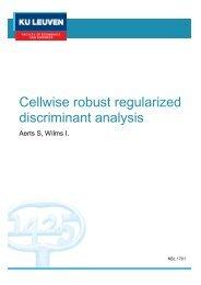 Cellwise robust regularized discriminant analysis