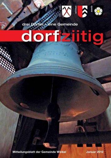 ziitig dorf - Gemeinde Winkel