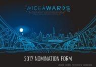 2017 nomination form