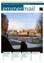 Emmenmail Januar/Februar 2010 - Gemeinde Emmen