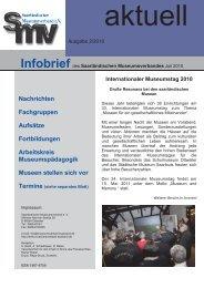 Nachrichten / Fortbildung - Saarländischer Museumsverband eV