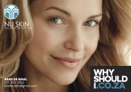 Nu Skin Skincare Focus