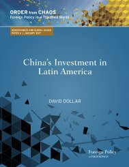 China's Investment in Latin America