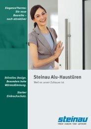 Steinau & Plasso Alu-Haustüren von 2 starken Partnern