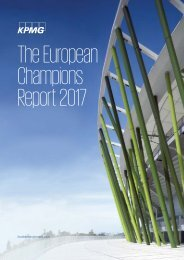 The European Champions Report 2017