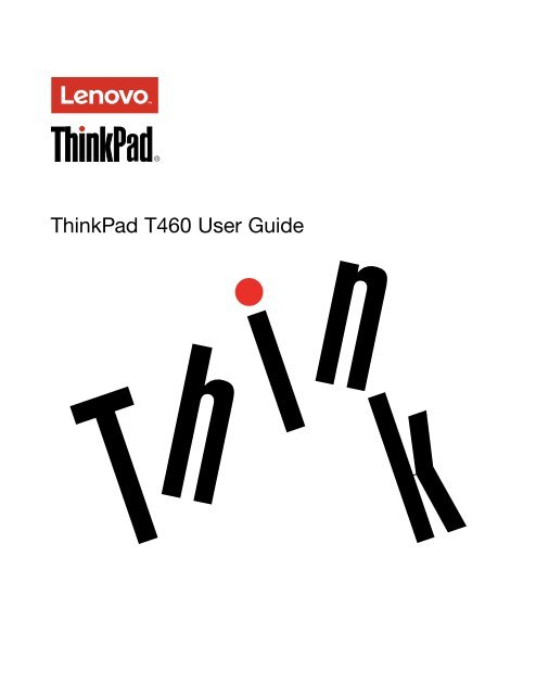 thinkpad user guide