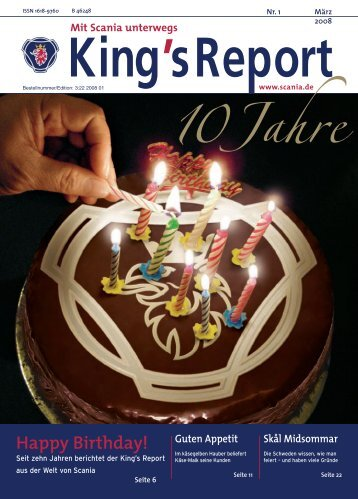 Happy Birthday! - Scania