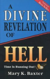 A Divine Revelation of Hell - Baxter