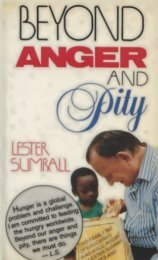 Beyond Anger and Pity - Sumrall