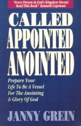 Called Appointed Anointed