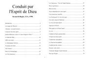 Conduit par l'Esprit de Dieu, Kenneth E Hagin