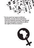 CHARTER OF FEMINIST PRINCIPLES FOR AFRICAN FEMINISTS - Page 7