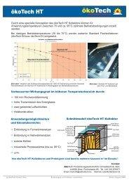 Datenblatt ökoTech HT-EN.cdr - ökoTech Solarkollektoren
