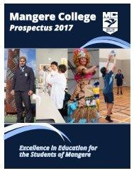 Mangere College Prospectus 2017