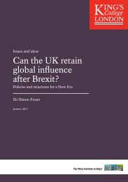 Can the UK retain global influence after Brexit?