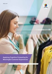 Applying Cognitive Computing for Meaningful Customer Experiences