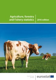 Agriculture forestry and f ishery statistics