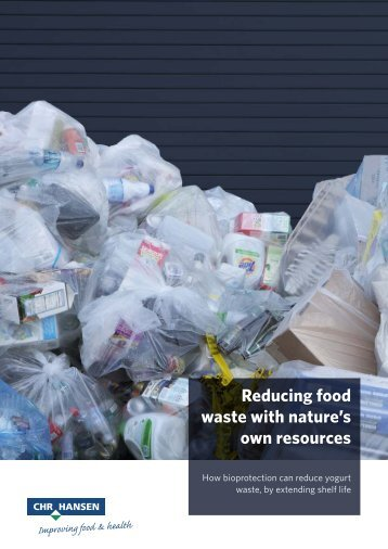 Reducing food waste with nature's own resources