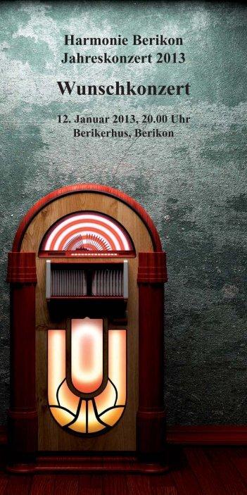Nach dem Konzert - Musikverein Berikon