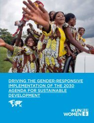IMPLEMENTATION OF THE 2030 AGENDA FOR SUSTAINABLE DEVELOPMENT