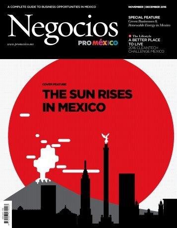 THE SUN RISES IN MEXICO