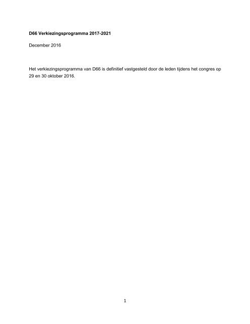 D66-Verkiezingsprogramma-TK2017-definitief