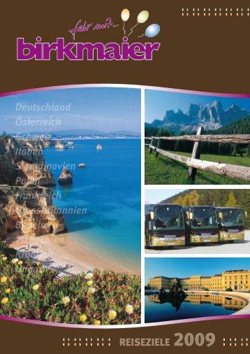 Einsteigen - Birkmaier Reisen