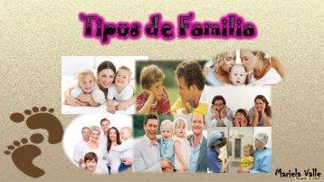 lbum  Tipos de Familia